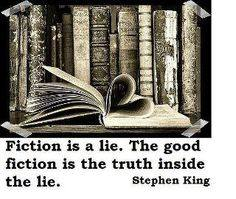 fiction is a lie